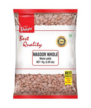 Picture of Kitchen Delight Brown Masoor Dal Whole With Skin