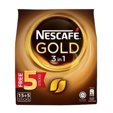 Picture of Nescafe Gold Blend 3 In 1 Instant Soluble Coffee