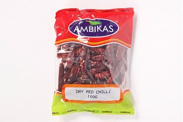 Picture of Ambika's Dried Red Chilli Long