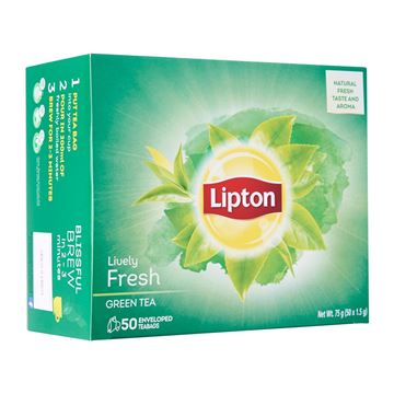 Picture of Lipton Lively Fresh Green Tea