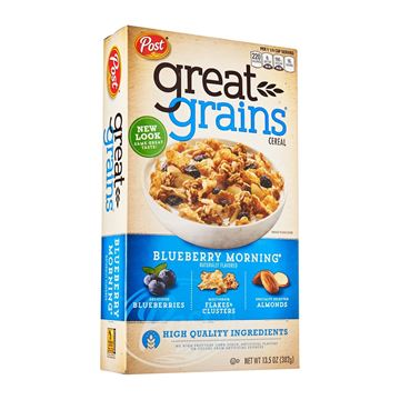 Picture of Post Selects Great Grains Cereal - Blueberry Morning