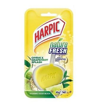 Picture of Harpic Nature Fresh Citrus Blocks Toilet Bowl Cleaner