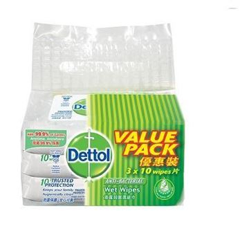 Picture of Dettol Anti Bacterial Original Wet Wipes (Value Pack)