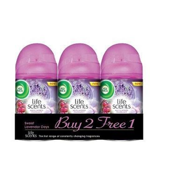 Air Wick Life Scents Sweet Lavender Refill Twin Pack
