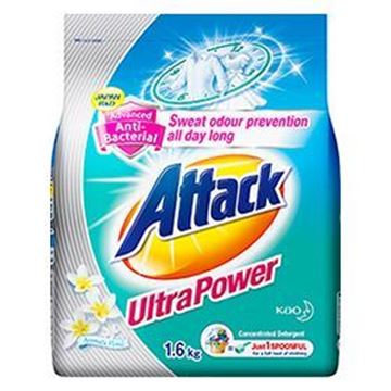 Picture of Attack Anti  Bacterial Ultra Power Powder Detergent