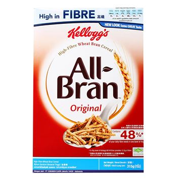 Picture of Kellogg's All  Bran High  Fibre Wheat Bran Cereal