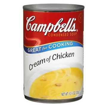 Picture of Campbell's Cream Of Chicken Condensed Soup