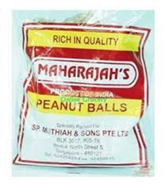 Picture of Maharajah's Peanut Ball Mithai