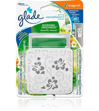 Picture of Glade Sensation Car Fresher Morning Fresh + Refill