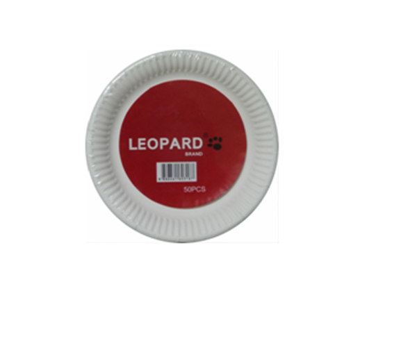 Picture of Leopard Paper Plates 9 Inches