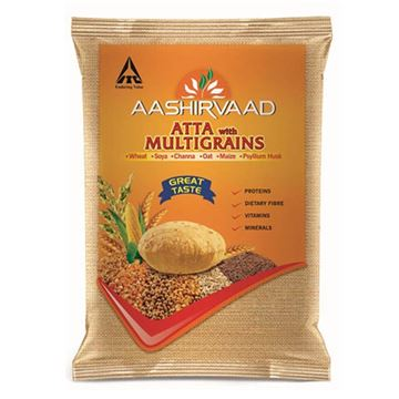 Picture of Aashirvaad Whole Wheat Flour (Atta) with Multigrains