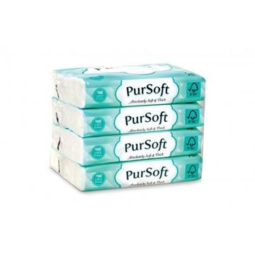 Picture of Pursoft Travel Pack Facial Tissue
