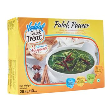 Picture of VADILAL Palak Paneer - Frozen (Premium Quality)