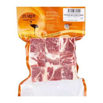 Picture of SURIA MUTTON Cut Cubes (Frozen)