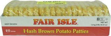 Picture of Fair ISLE Hash Brown Golden Crisp Pattie - Frozen (USA)