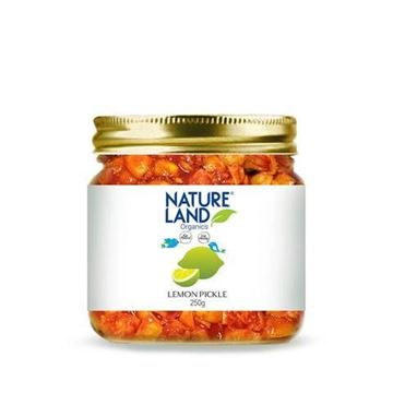Picture of NATURELAND Lemon Pickle (Certified ORGANIC)