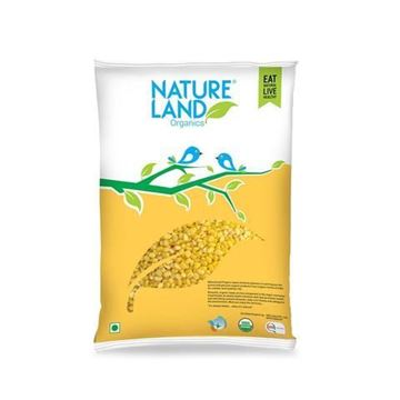 Picture of NATURELAND  Moong Dal Split Washed (Certified ORGANIC)