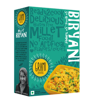 Picture of Grami Millet Biryani Rice Mix (Certified ORGANIC)