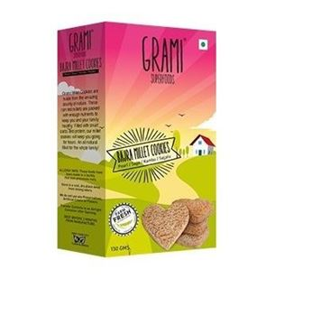 Picture of Grami Bajra Millet  Cookies (Certified ORGANIC)