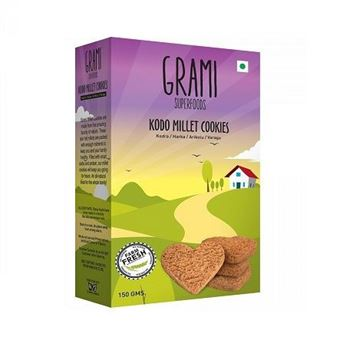 Picture of Grami Kodo Millet  Cookies (Certified ORGANIC)