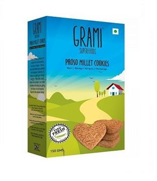 Picture of Grami  Proso Millet  Cookies (Certified ORGANIC)