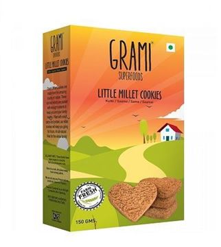 Picture of Grami Little Millet  Cookies (Certified ORGANIC)