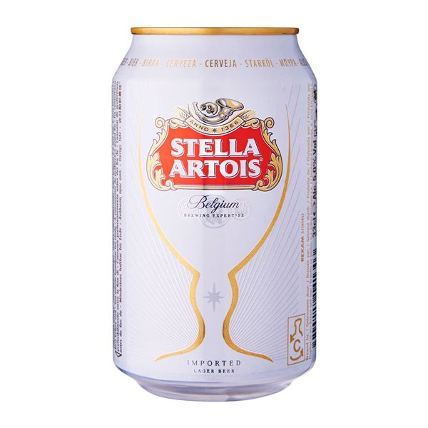 Picture of Stella Artois Beer Can
