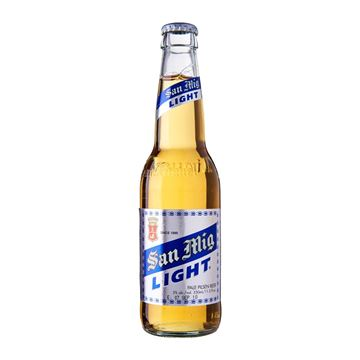 Picture of San Miguel Light Beer Bottle