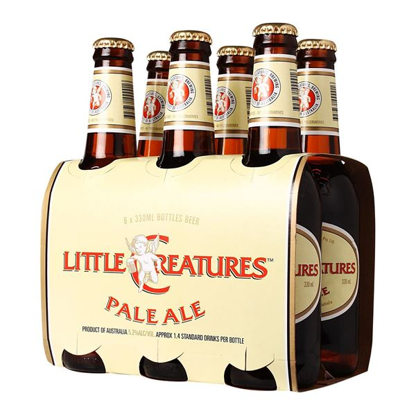 Picture of Little Creatures Pale Ale Beer Bottle