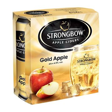 Picture of Strongbow  Apple Cider Gold