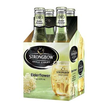 Picture of Strongbow Elderflower Apple Cider