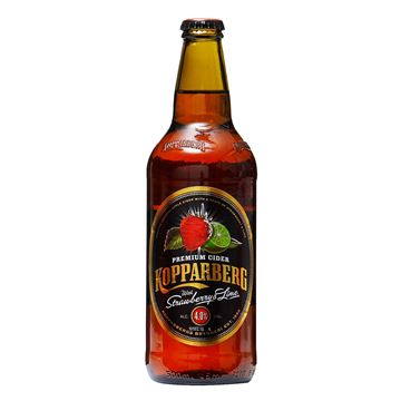 Picture of Kopparberg Premium Cider    Strawberry & Lime