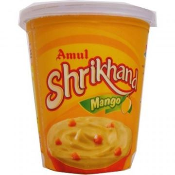 Picture of AMUL Shrikhand Mango (Chilled)  (Delivered at least 3 Weeks before from date of expiry)