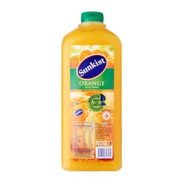 Picture of Sunkist Orange Juice Drink    No Added Sugar