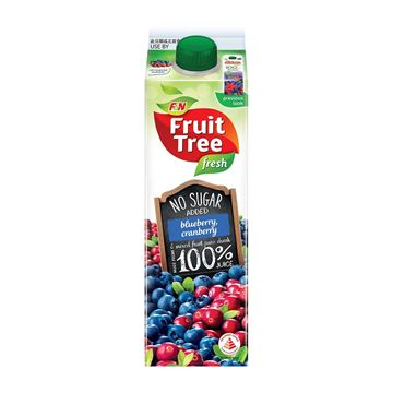 Picture of F&N Fruit Tree Fresh Blueberry Juice    No Added Sugar