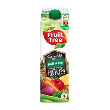 Picture of F&N Fruit Tree Fresh Fruit and Veg Juice    No Added Sugar