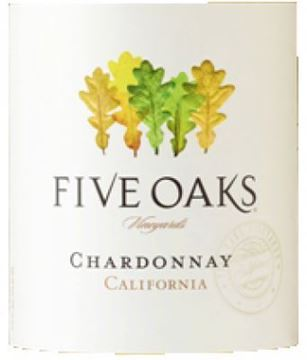 Picture of Five Oaks Chardonnay