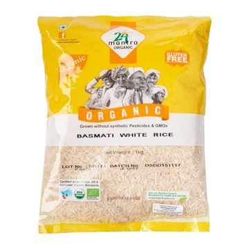 Picture of 24 MANTRA  White Basmati Rice  (Certified ORGANIC)