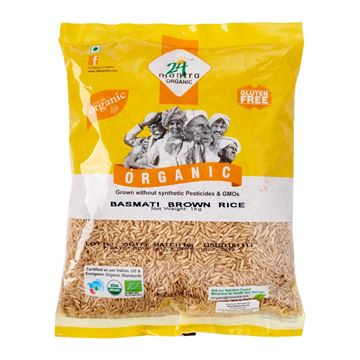 Picture of 24 MANTRA Brown Basmati Rice (Certified ORGANIC)