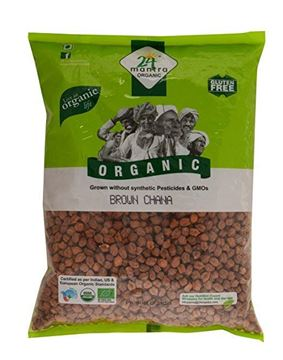 Picture of 24 MANTRA Brown Channa Whole (Certified ORGANIC)