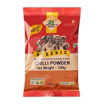 Picture of 24 MANTRA Chilli Powder (Certified ORGANIC)