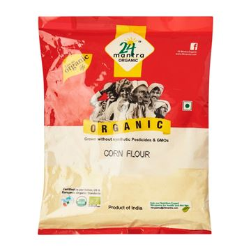 Picture of 24 MANTRA Corn Flour (Certified ORGANIC)