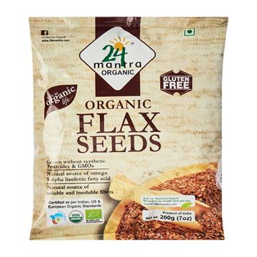 Picture of 24 MANTRA Flax Seeds (Certified ORGANIC)