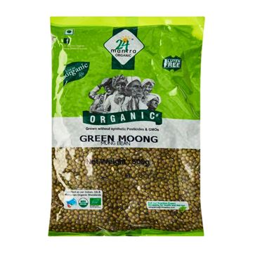 Picture of 24 MANTRA Green Moong Dal Whole  (Certified ORGANIC)