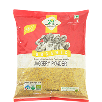 Picture of 24 MANTRA Jaggery Powder  (Certified ORGANIC)