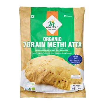 Picture of 24 MANTRA 7 Grain Methi Atta (Certified ORGANIC)