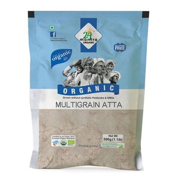 Picture of 24 MANTRA Multigrain Atta (Certified ORGANIC)