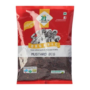 Picture of 24 MANTRA  Mustard Seeds Small (Certified ORGANIC)