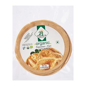 Picture of 24 MANTRA Plain Papad (Certified ORGANIC)