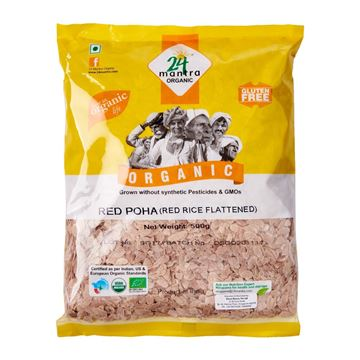 Picture of 24 MANTRA Red Poha (Certified ORGANIC)